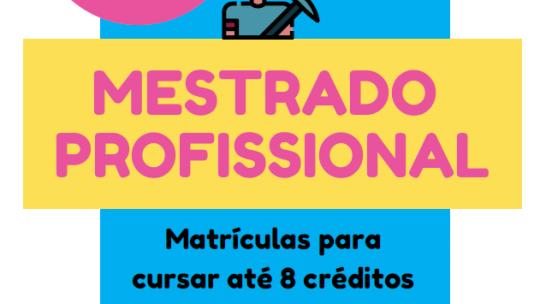 Regime Especial de Matrícula PPGTM - Informações: http://cursos.unipampa.edu.br/cursos/ppgtm/regime-especial-de-matricula/