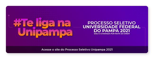 Processo Seletivo Unipampa 2020