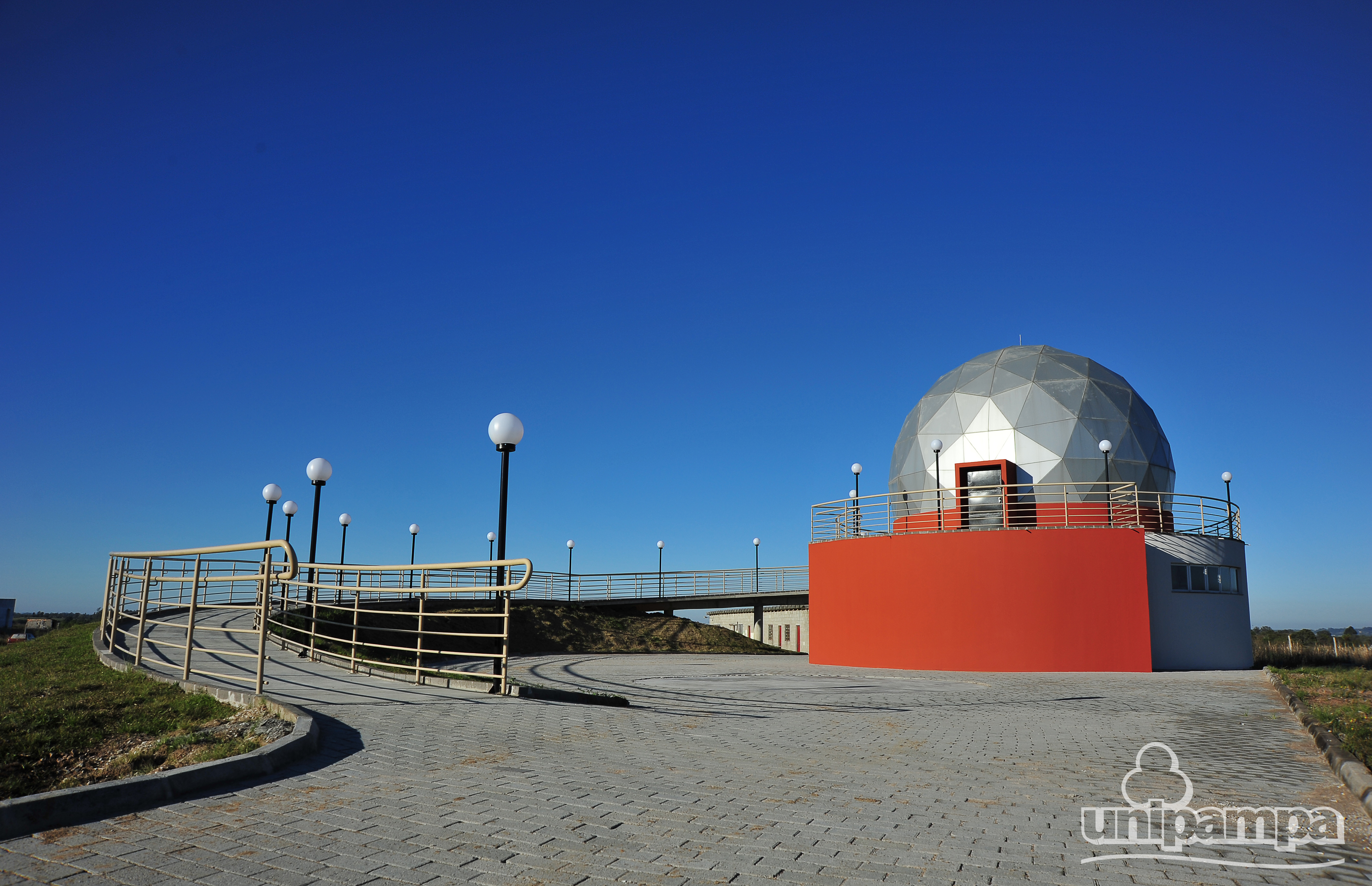 Planetário da Unipampa - Foto: Ronaldo Estevam