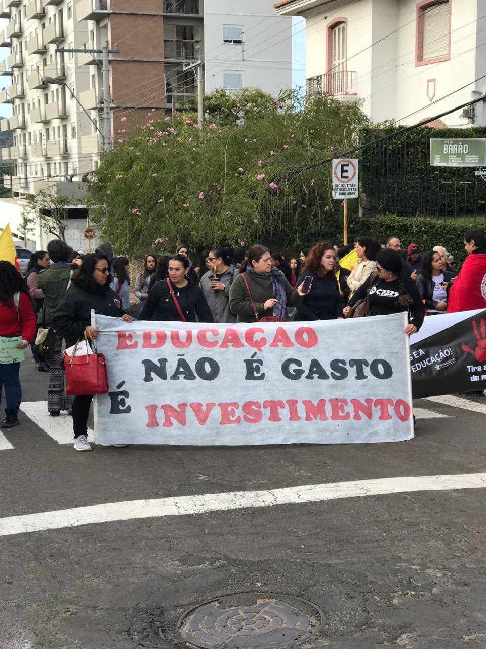 Em Livramento as atividades aconteceram na Praça Internacional. Fotos: Divulgação