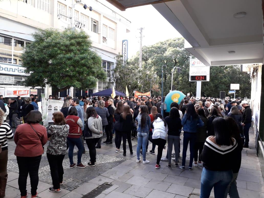 Em Alegrete a programação aconteceu durante todo o dia. Foto: Divulgação
