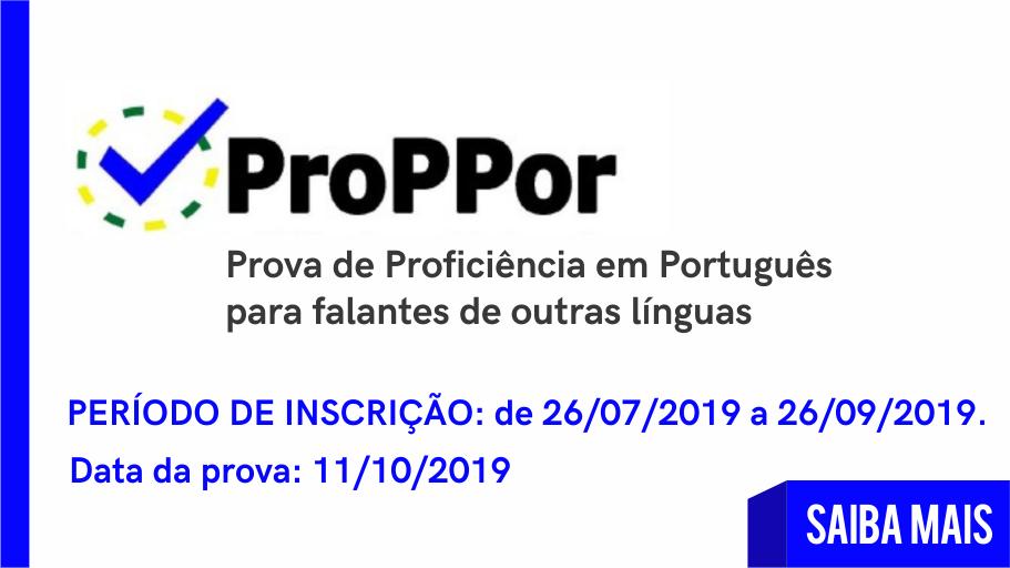 Prova de Proficiência em Português para falantes de outros idiomas