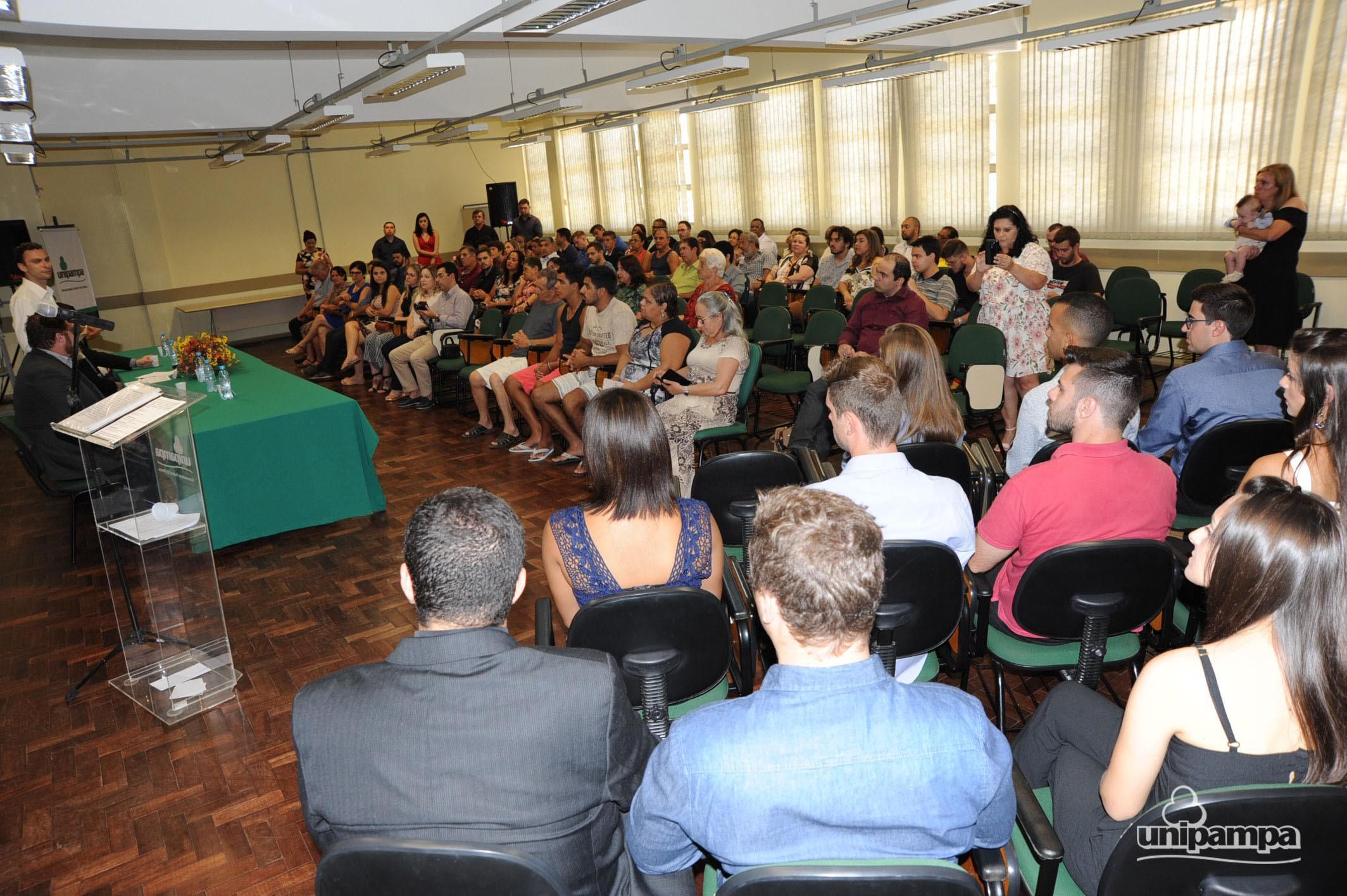 Cerimônia de colação de grau solene interna do Campus Alegrete