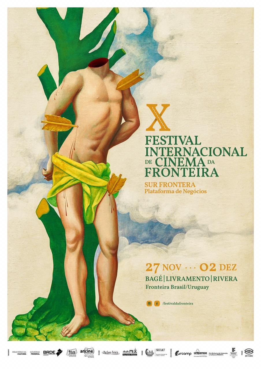 Cartaz 10º Festival Internacional de Cinema de Fronteira
