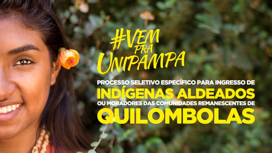 Processo Seletivo Indígenas e Quilombolas