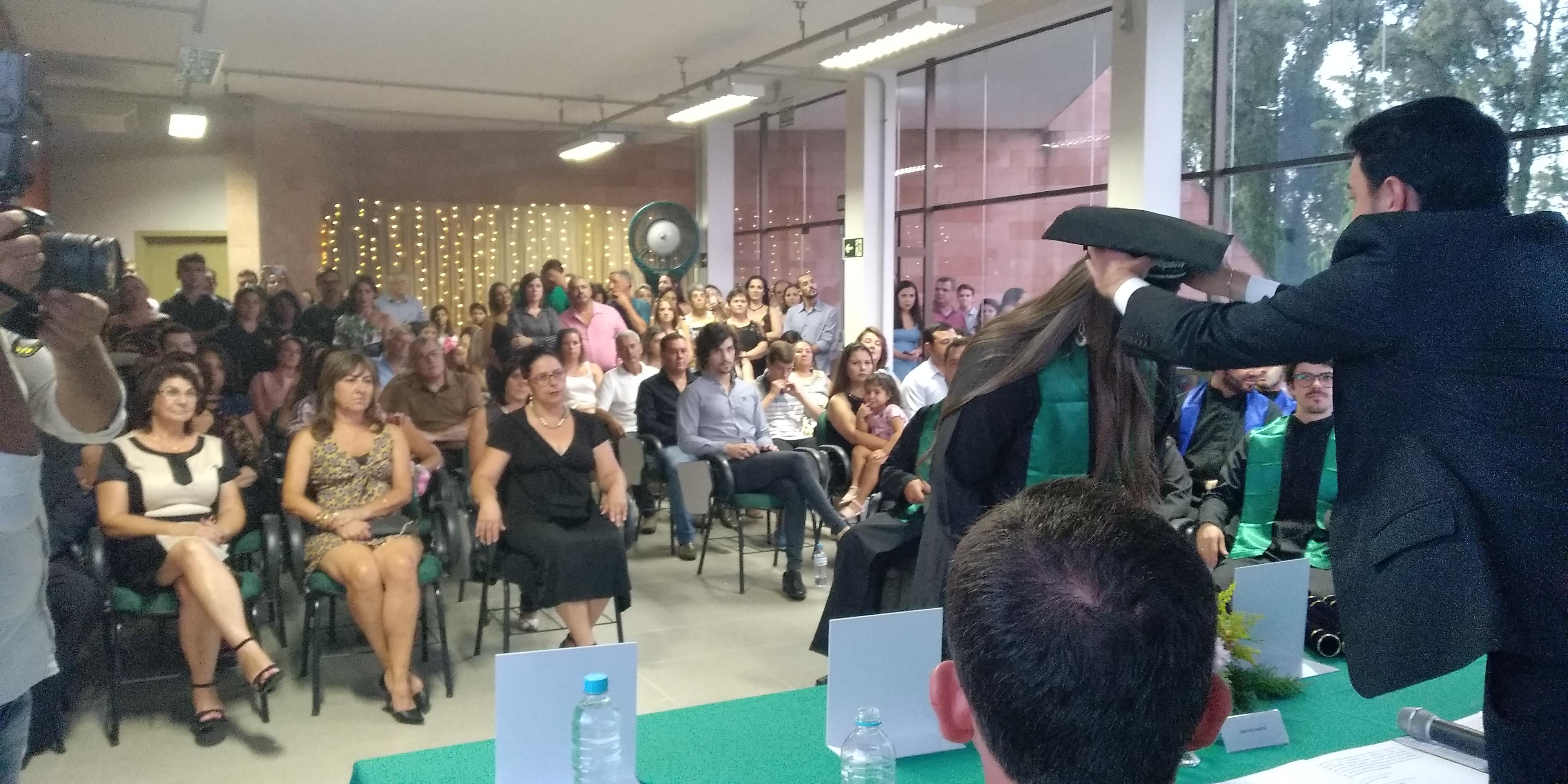 Cerimônia de colação de grau solene interna do Campus Dom Pedrito