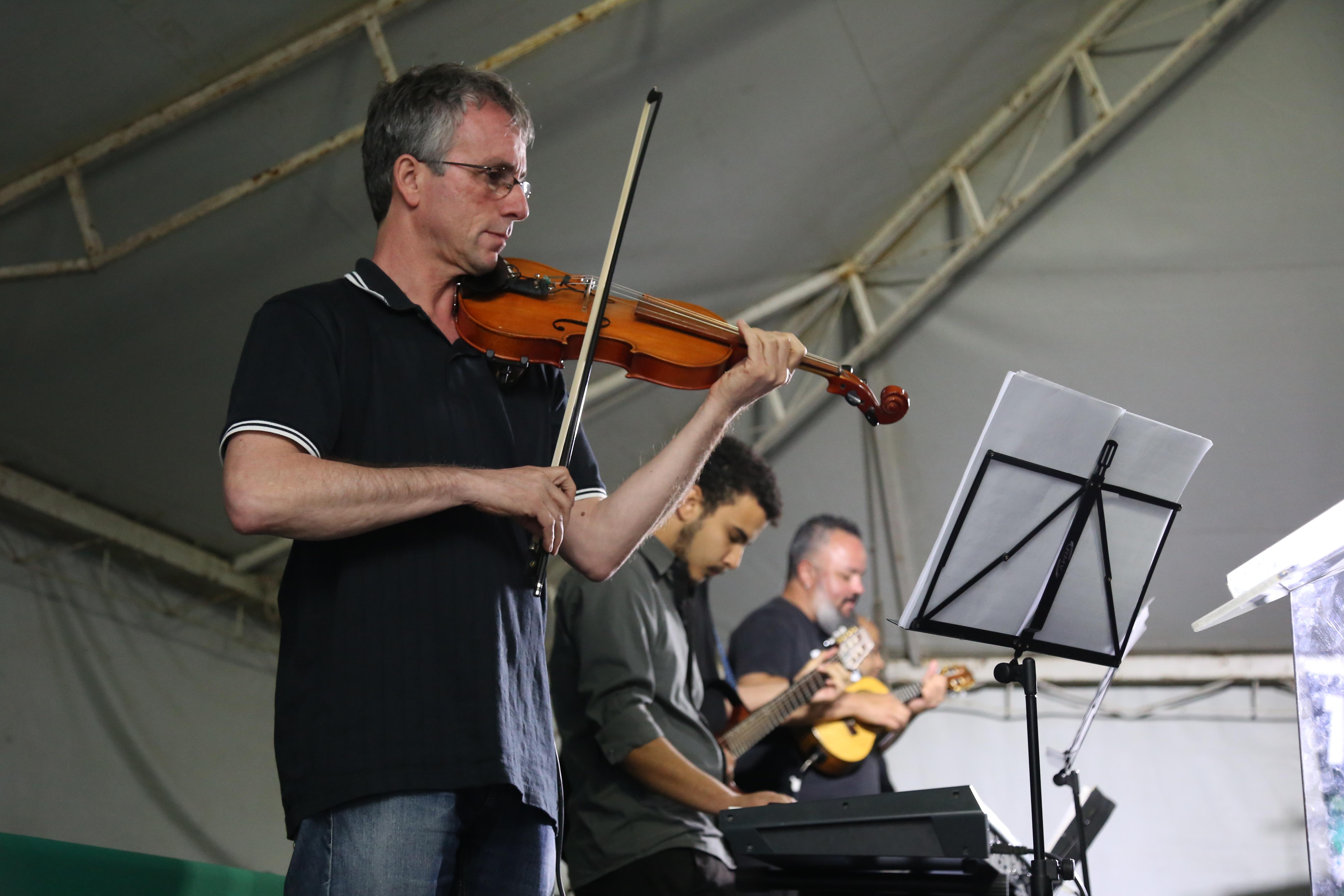 Com dança e música, abertura do Siepe celebra os dez anos do evento (Foto: Milene Marchezan)