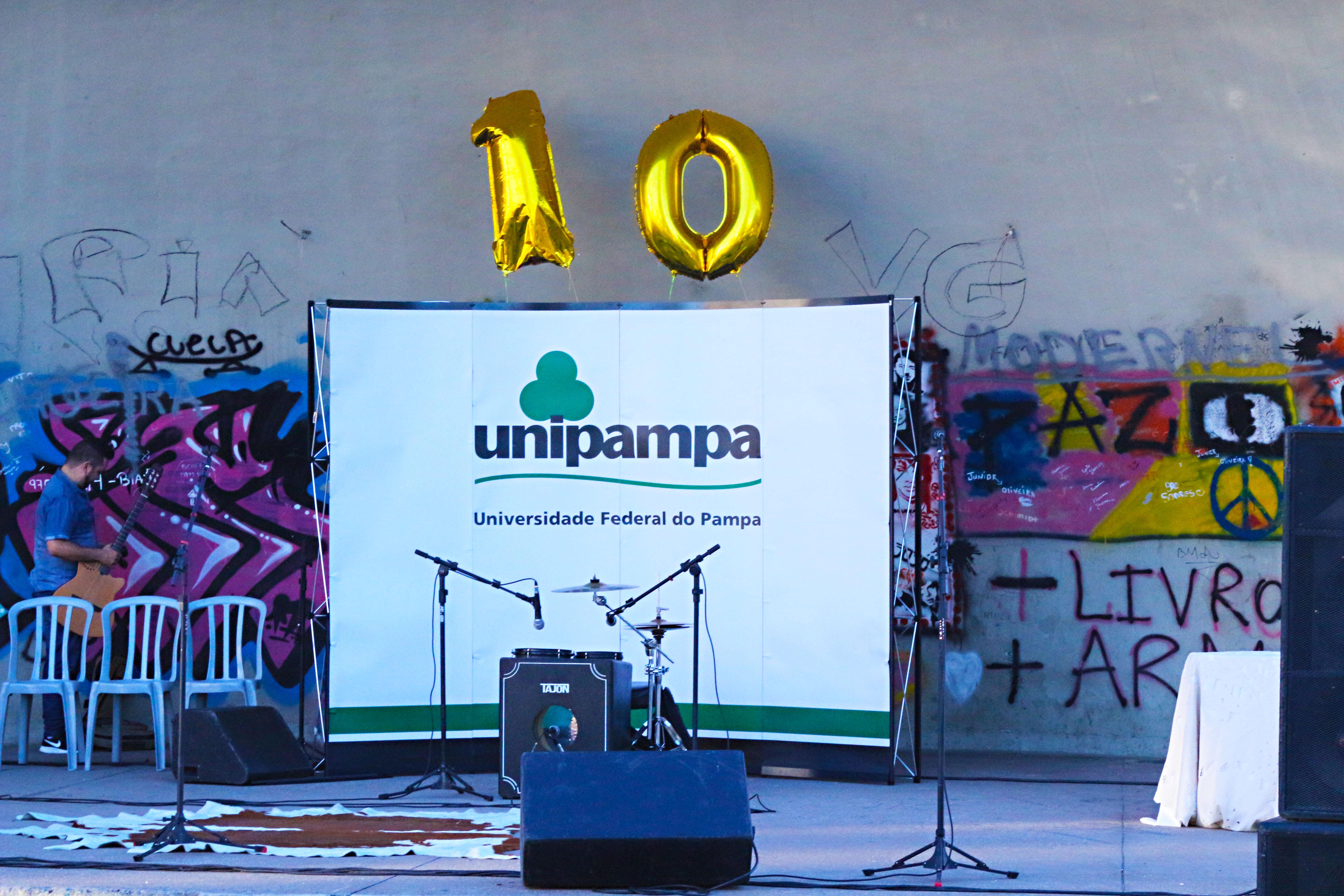 Unipampa celebra dez anos com a comunidade bageense. Foto: Ronaldo Estevam