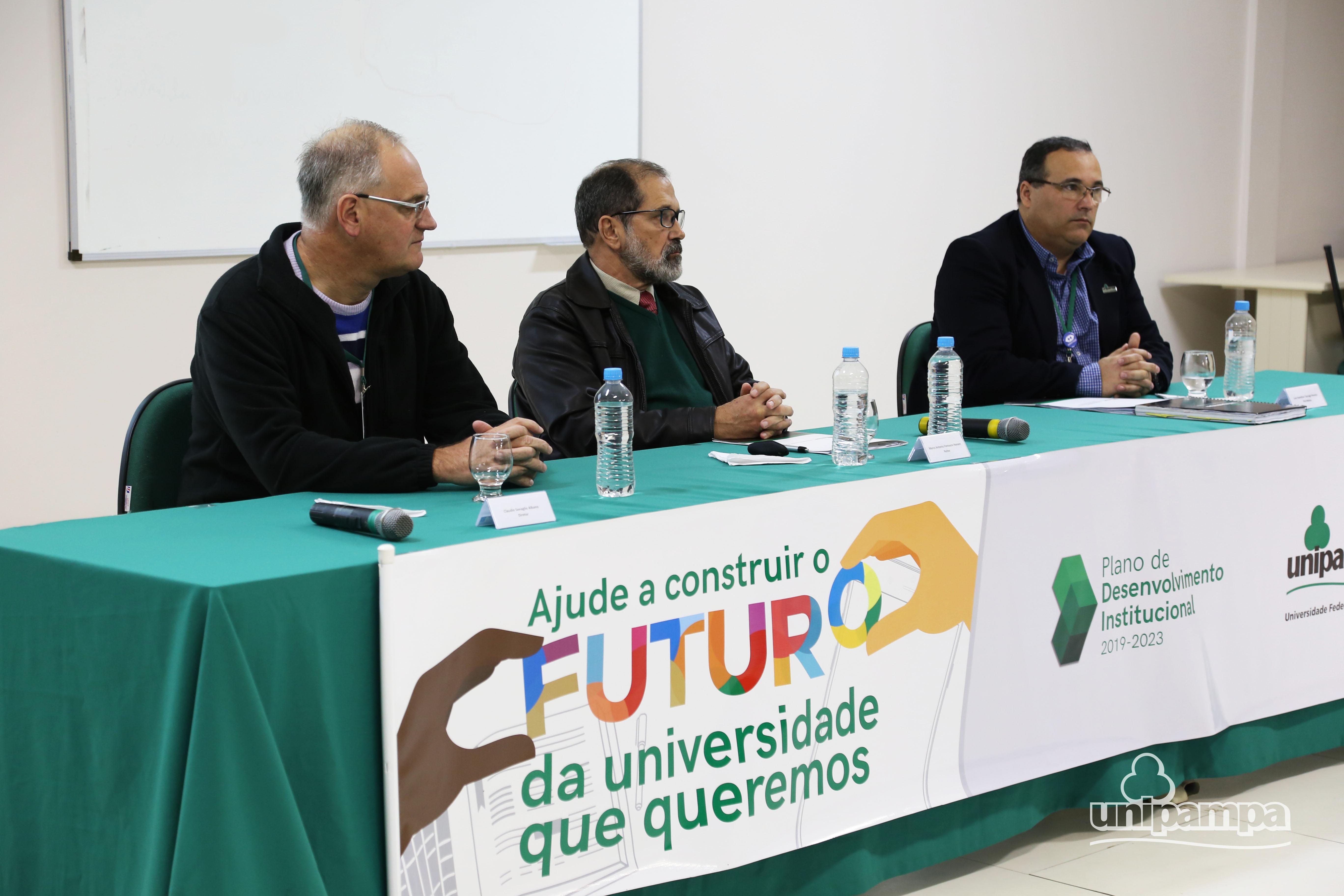 Lançamento do processo de elaboração do PDI aconteceu na última segunda-feira, 11. Foto: Ronaldo Estevam