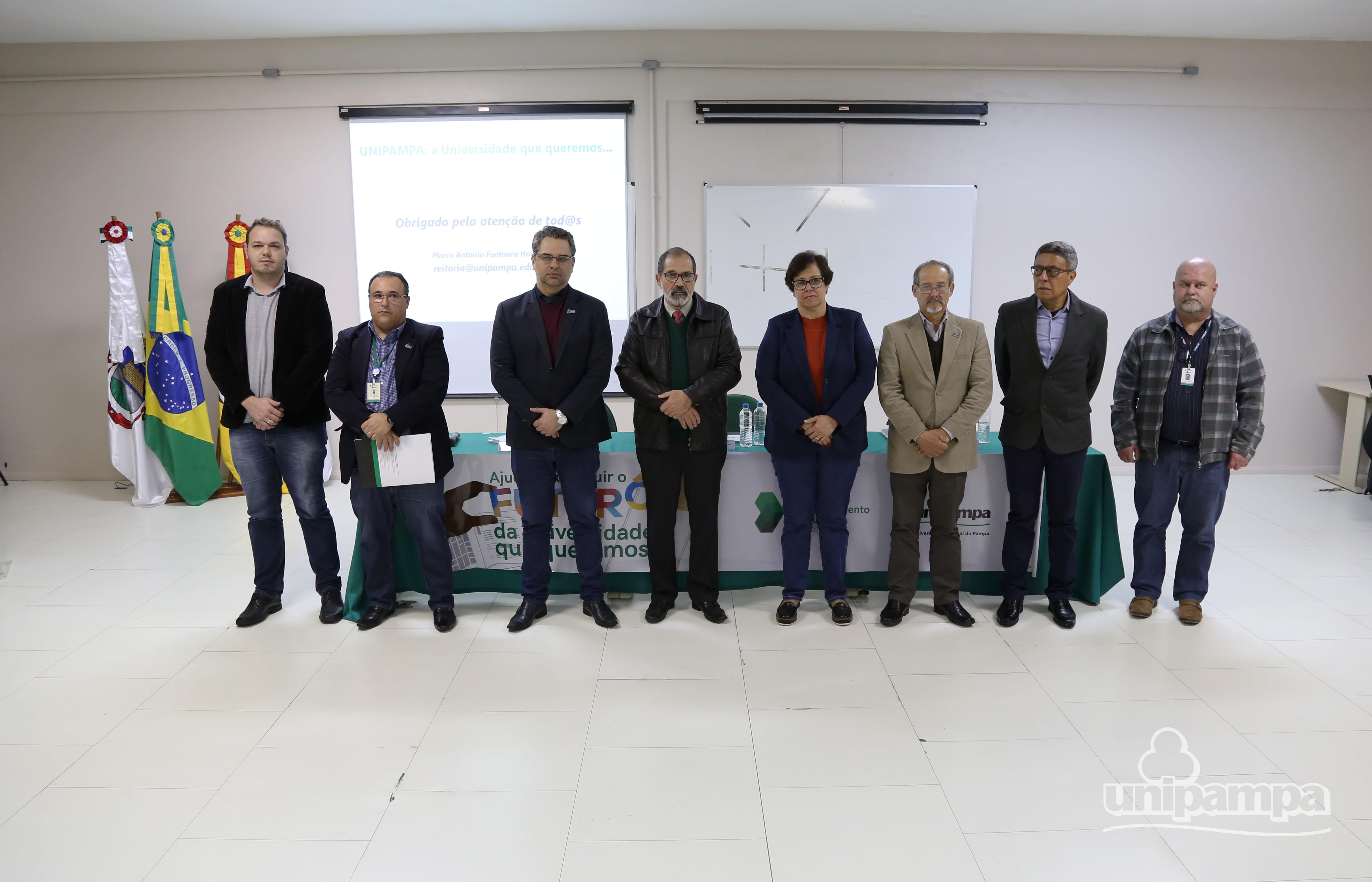 Comissão Central de Elaboração do PDI foi apresentada a comunidade universitário. Foto: Ronaldo Estevam