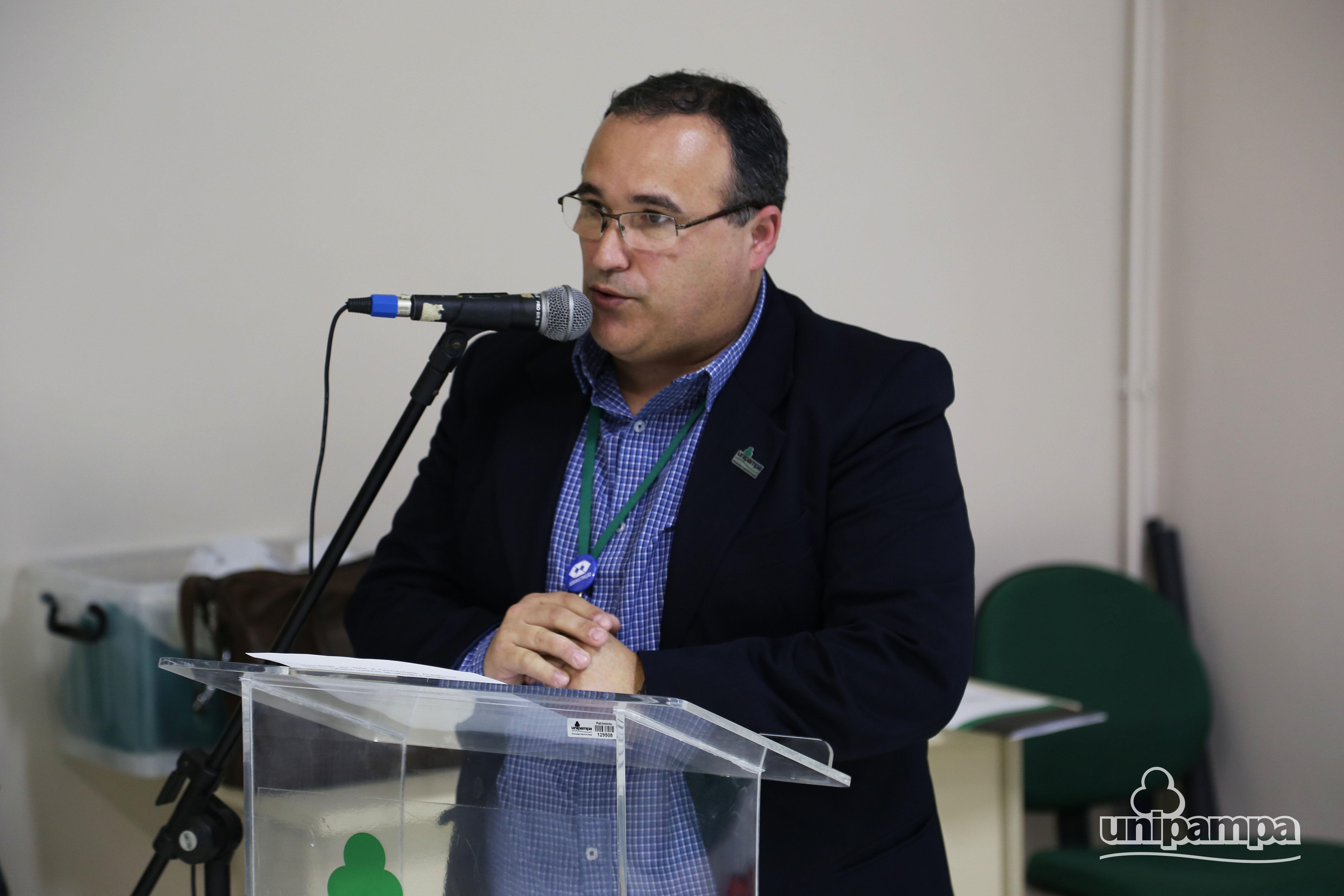 O pró-reitor de Planejamento e Infraestrutura falou sobre o PDI. Foto: Ronaldo Estevam