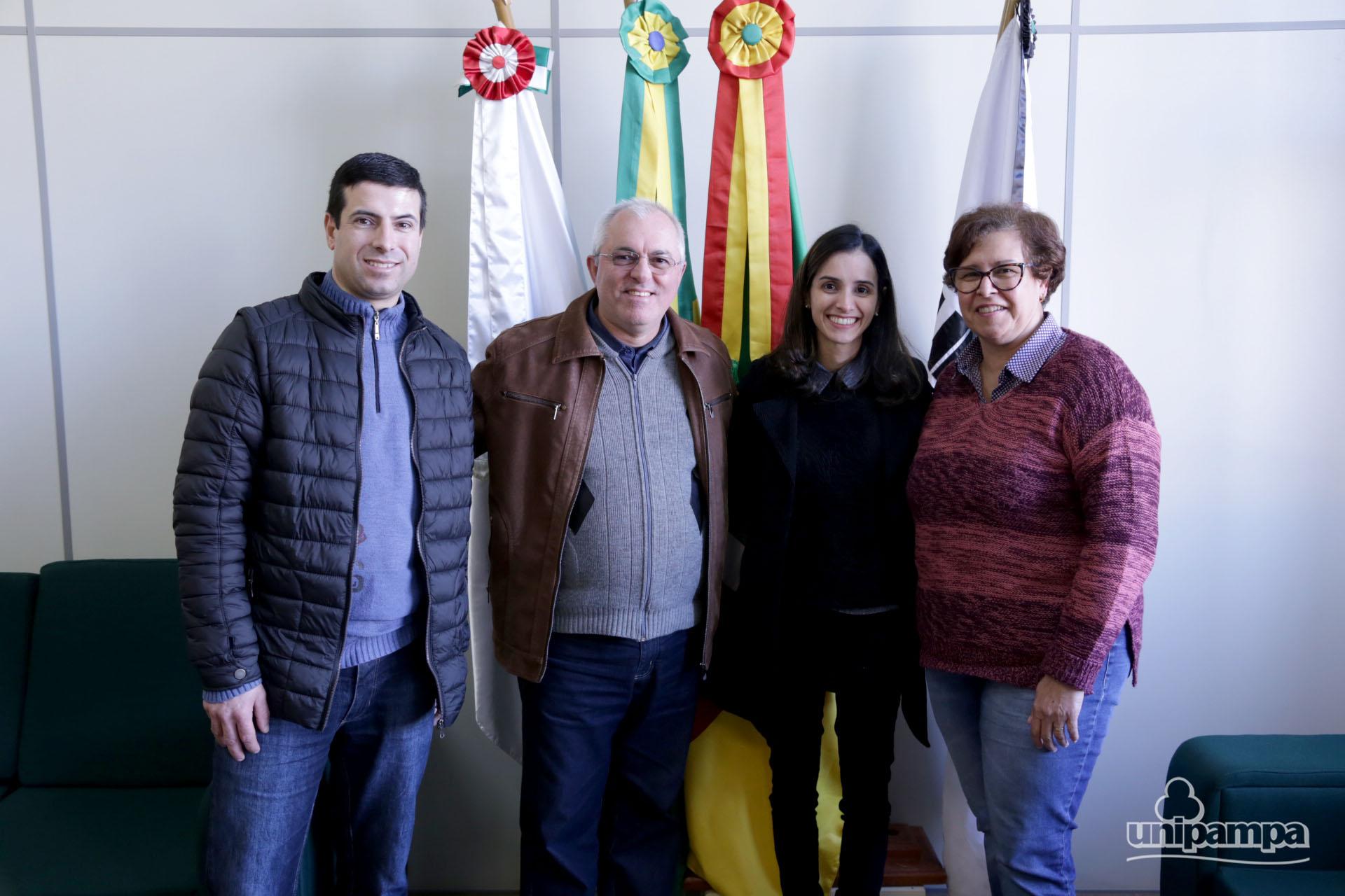 Universidade recebeu novos Professores efetivos e e substitutos. Fotos: Ronaldo Estevam