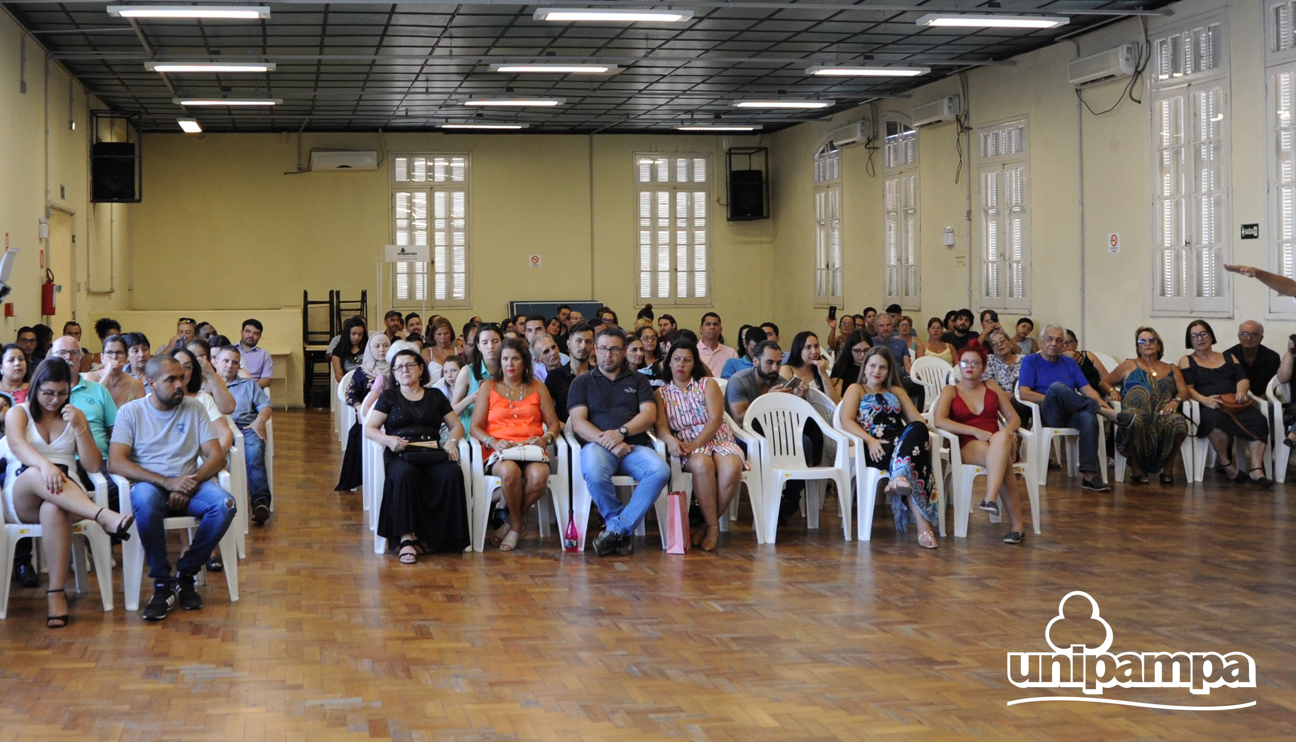 Cerimônia de colação de grau solene interna do Campus Santana do Livramento