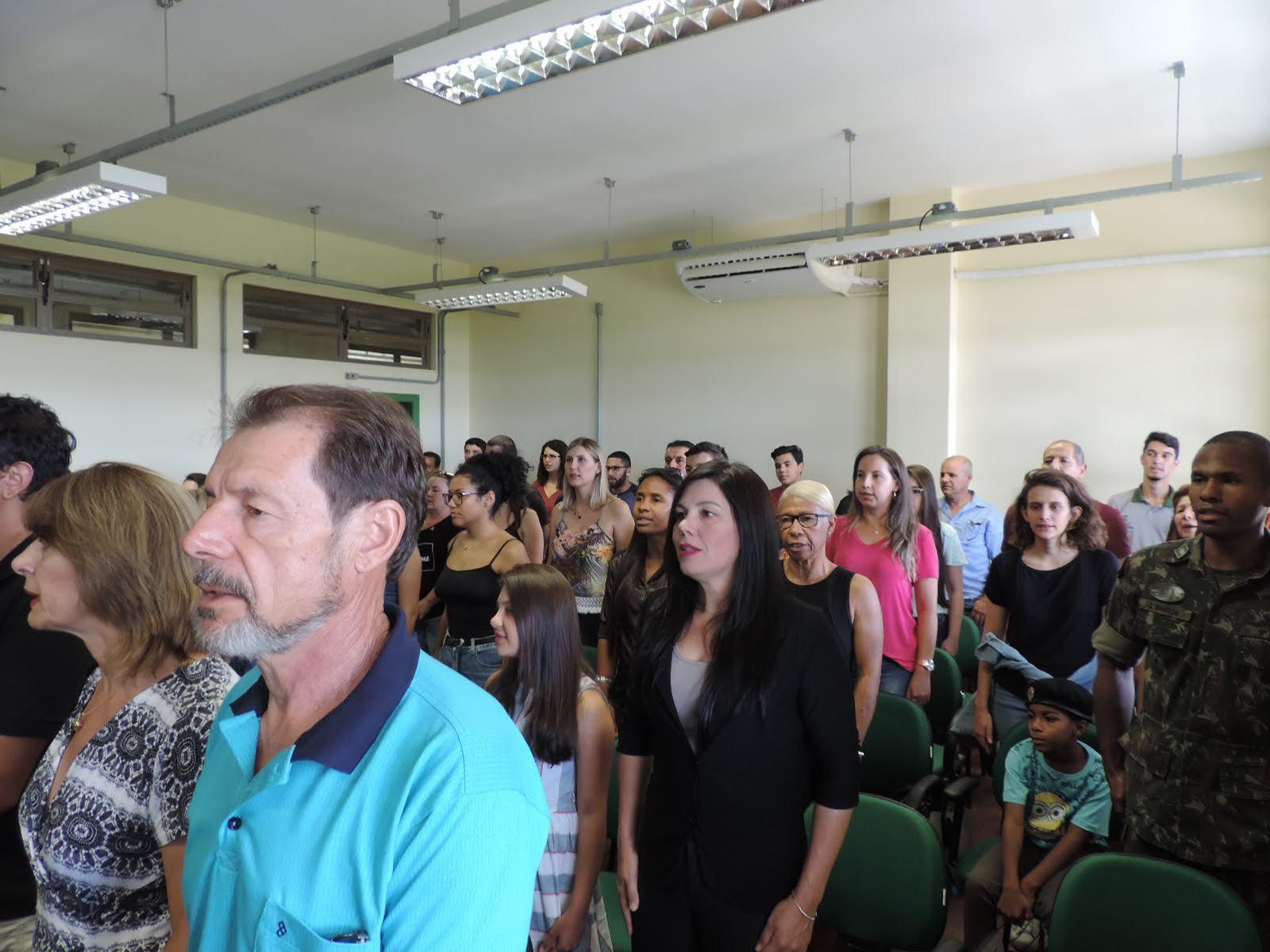 Cerimônia de colação de grau solene interna do Campus São Gabriel