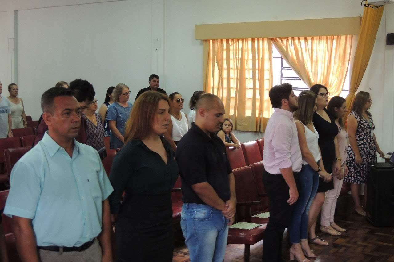Cerimônia de colação de grau solene interna do Campus Uruguaiana