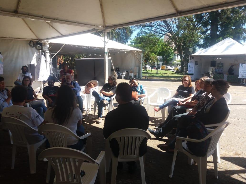 Roda de conversa marcou início do Festival durante o 10º Siepe