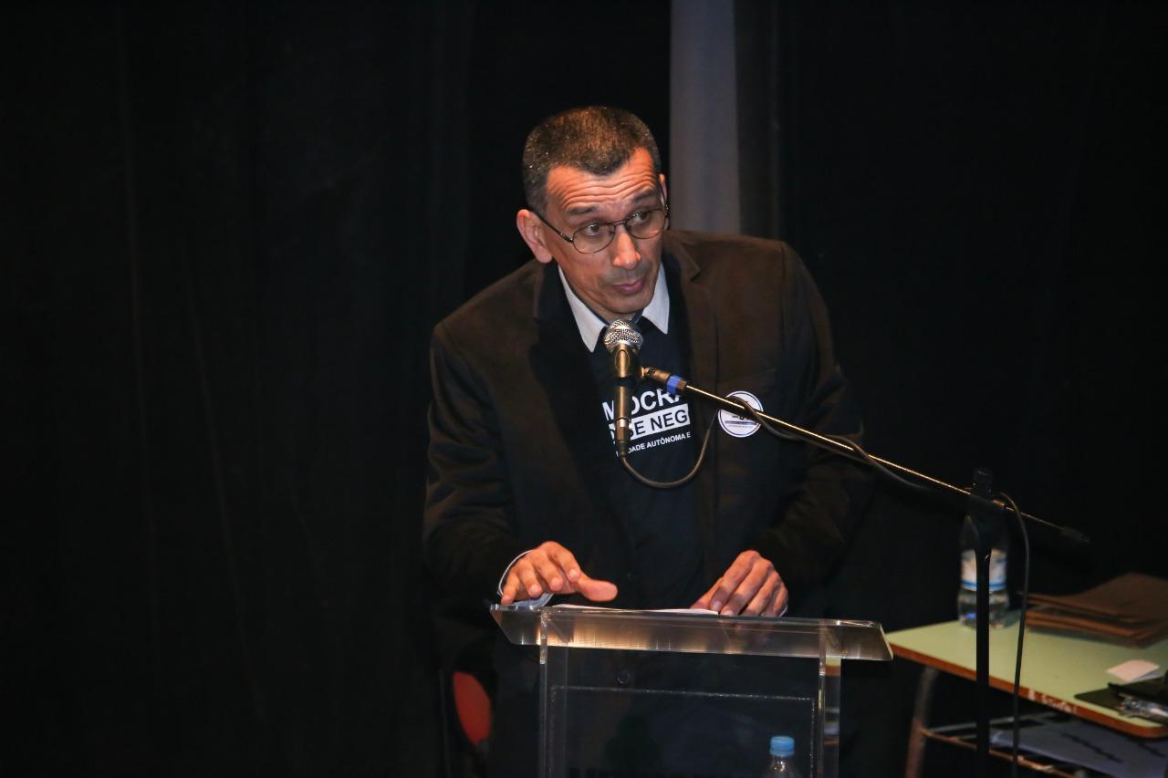 Candidato Jefferson Marçal da Rocha, da chapa Unipampa: autônoma e diversa - Foto: Milene Marchezan