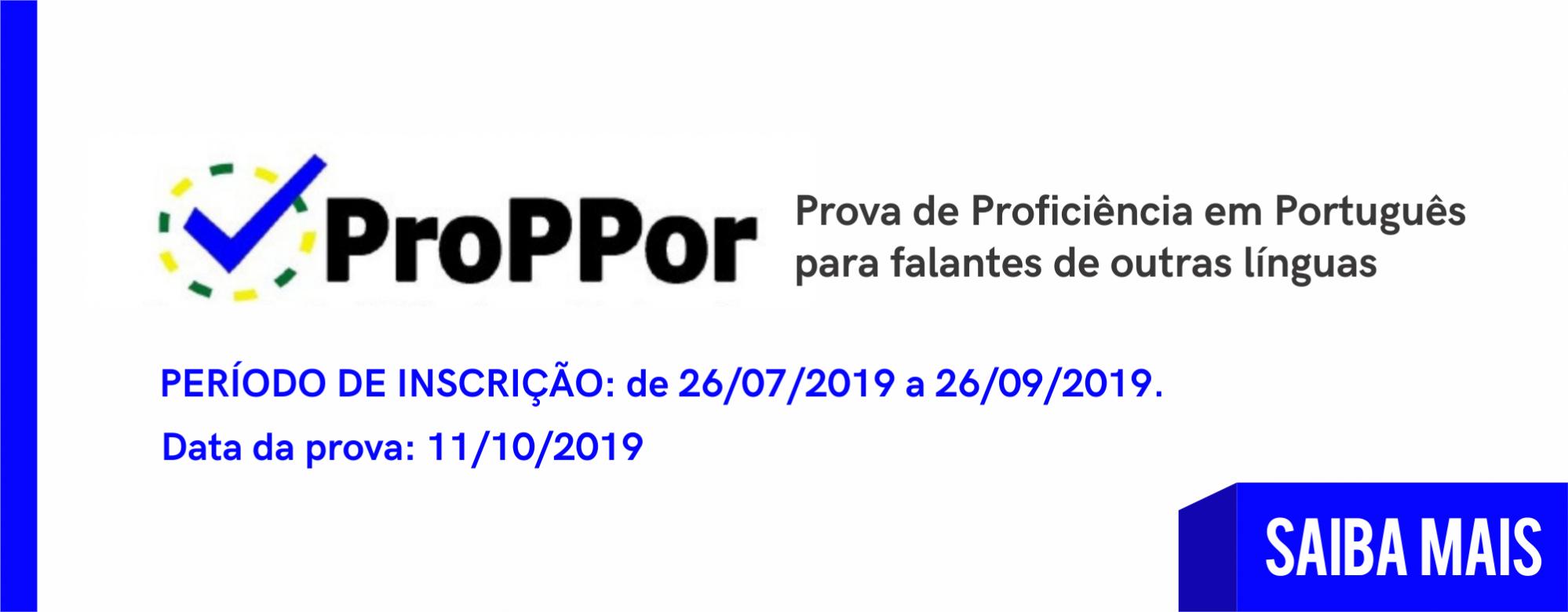 Prova de Proficiência em Português