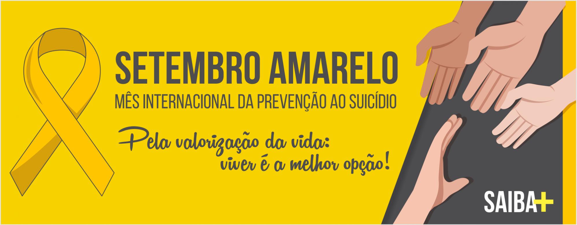 Setembro Amarelo na Unipampa ressalta a importância da prevenção do suicídio