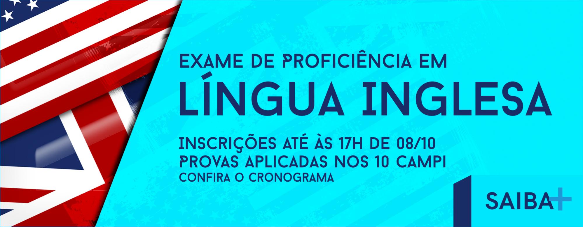 Exame de proficiência em Língua Inglesa será aplicado em novembro na Unipampa