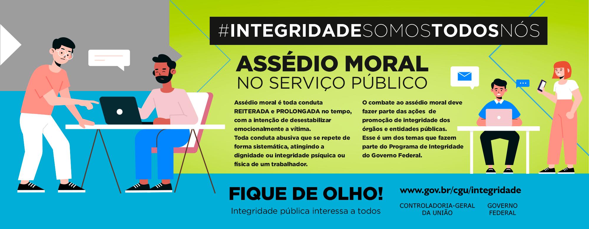 CGU reforça campanha contra assédio moral e sexual