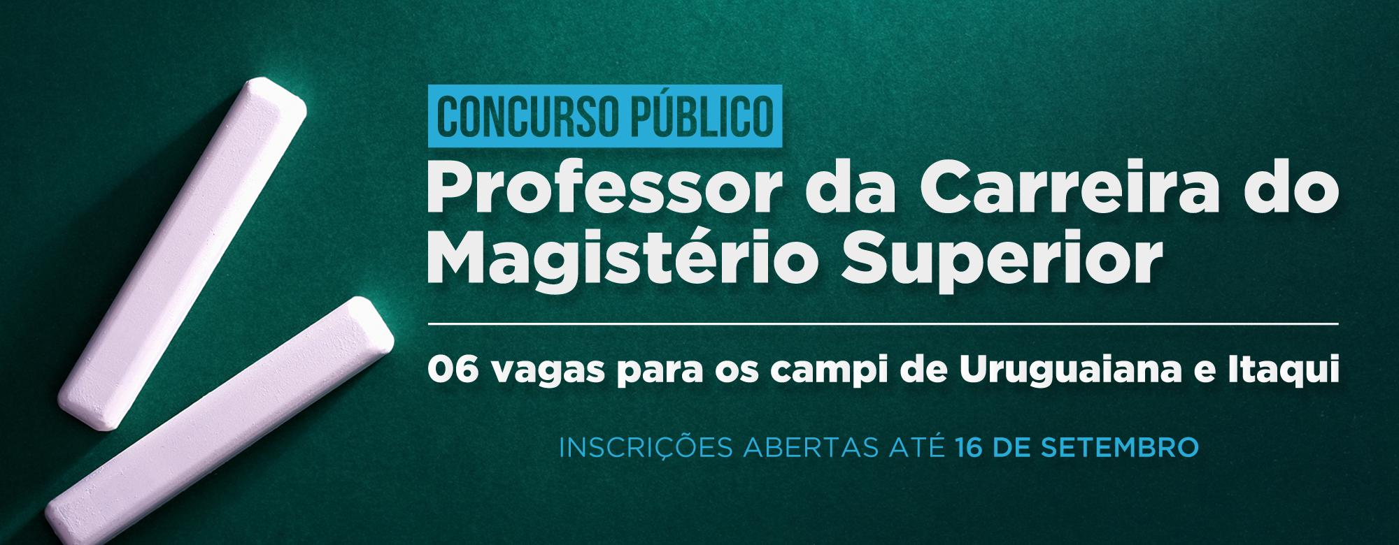 Unipampa abre novo concurso público para professor