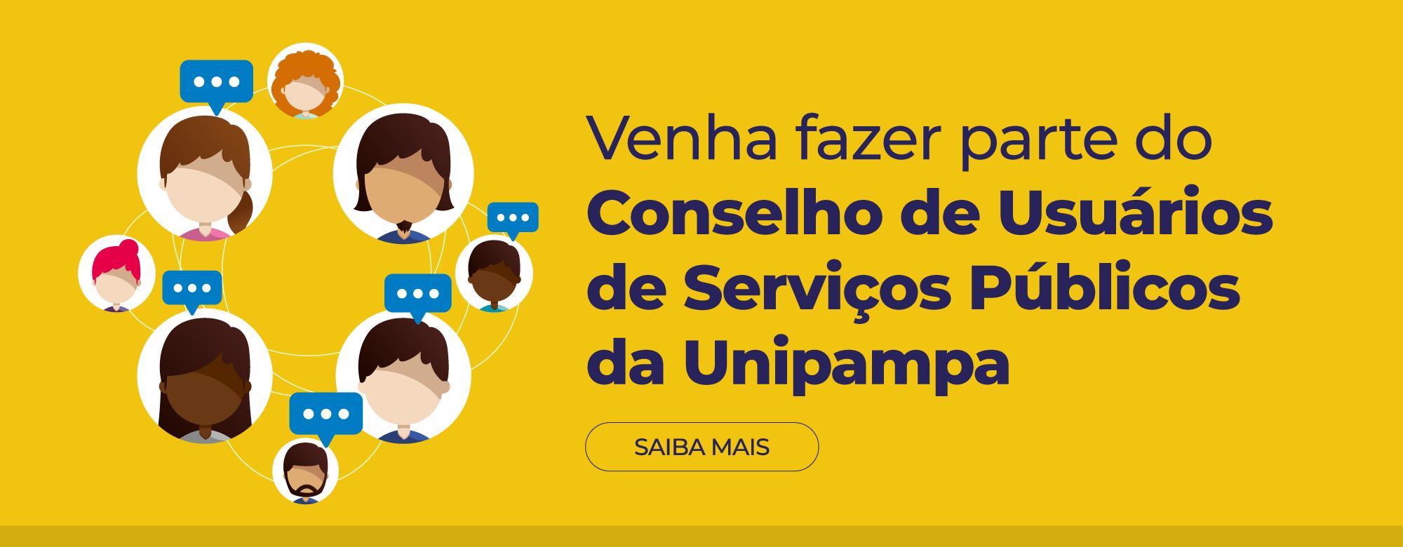 Participe do Conselho de Usuários de Serviços Públicos da Unipampa