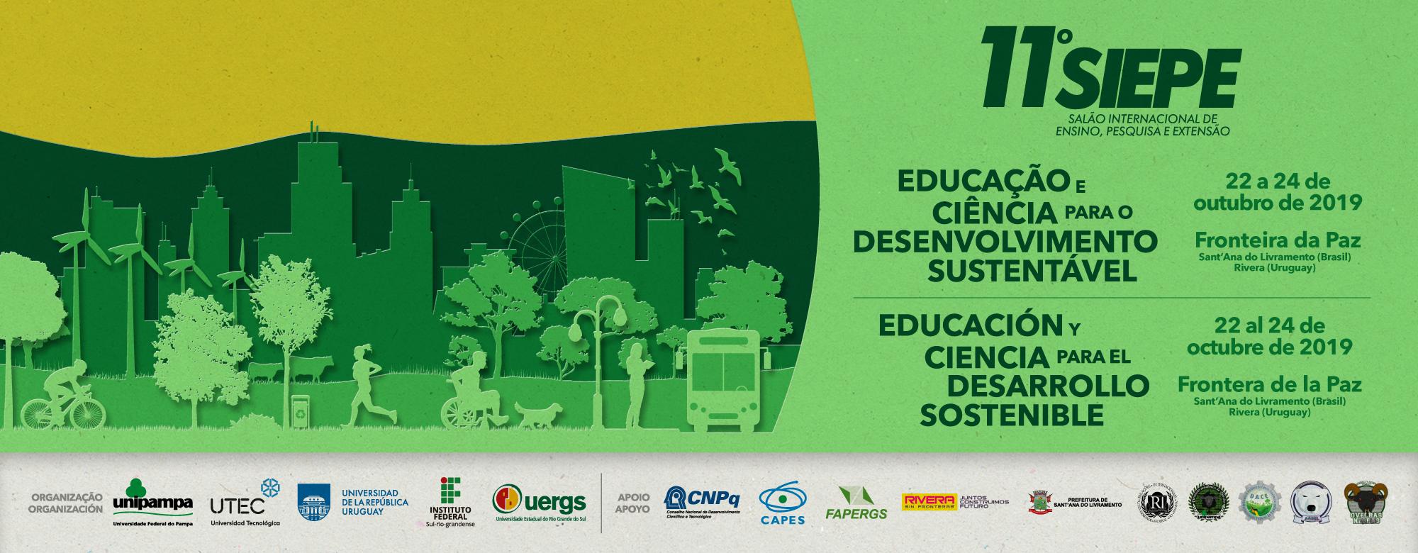 11º Siepe discutirá Educação e Ciência para o Desenvolvimento Sustentável