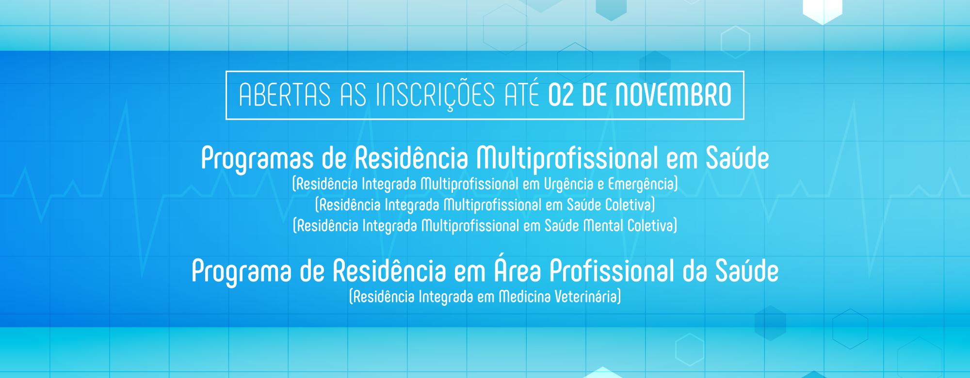 Residências Multiprofissionais em Saúde