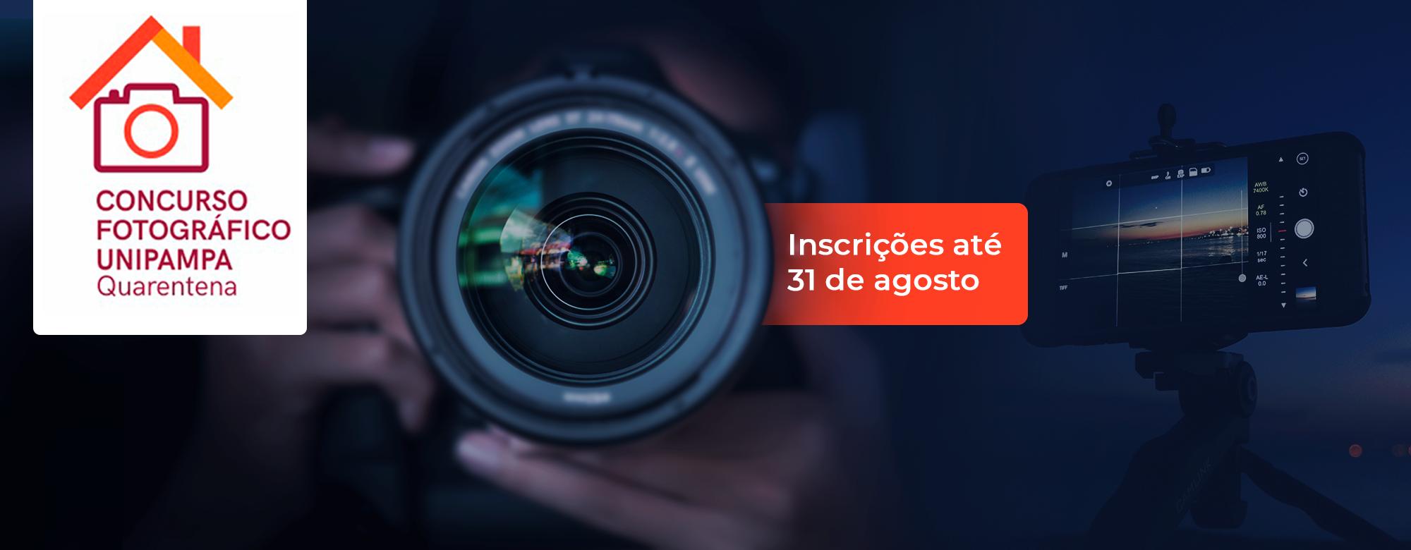 Concurso Fotográfico Unipampa Quarentena - Inscrições até 31 de Agosto