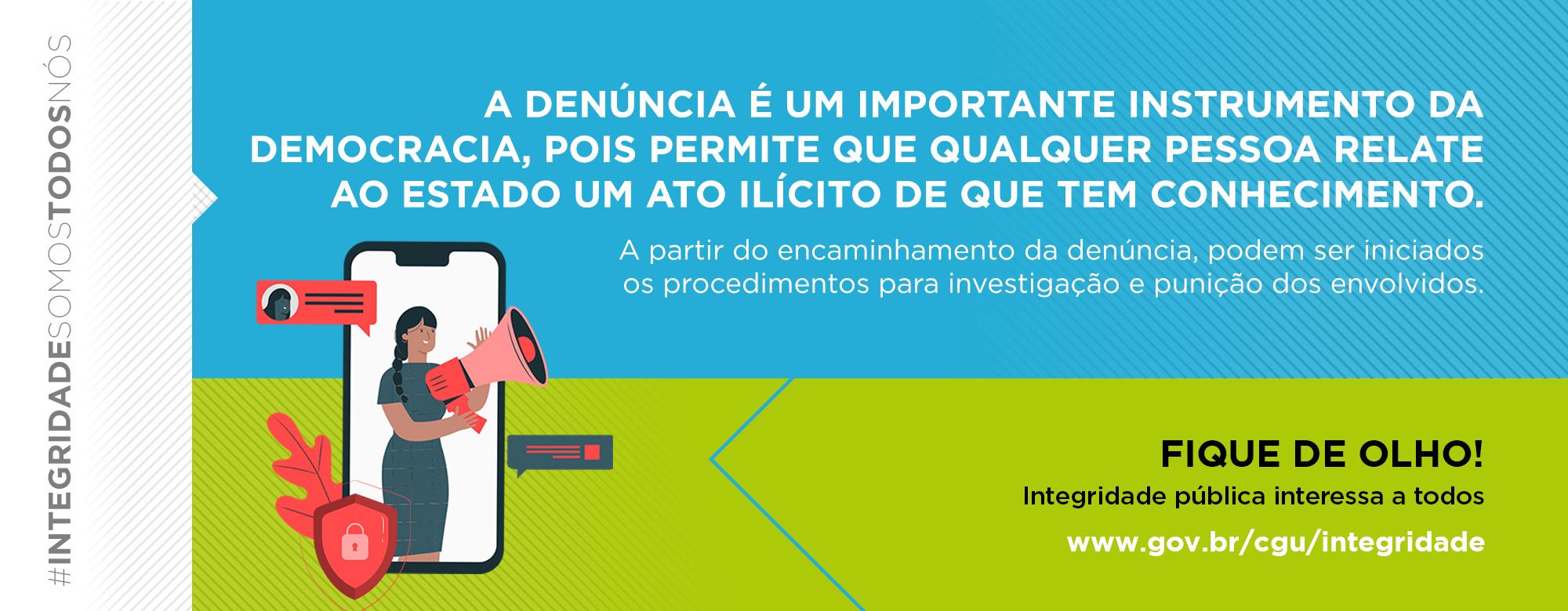 Integridade no Governo Federal: CGU aborda denúncias e proteção ao denunciante na campanha deste mês