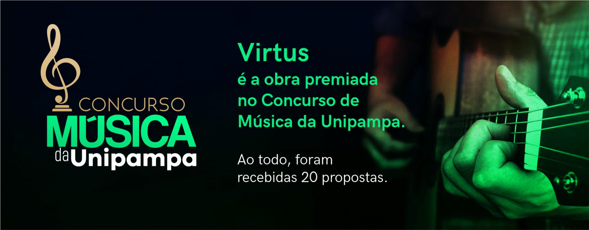 Virtus é a obra premiada no Concurso de Música da Unipampa