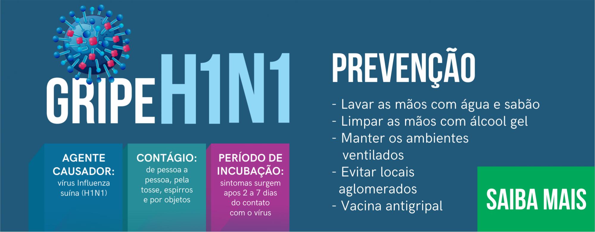 gripe h1n1. saiba mais