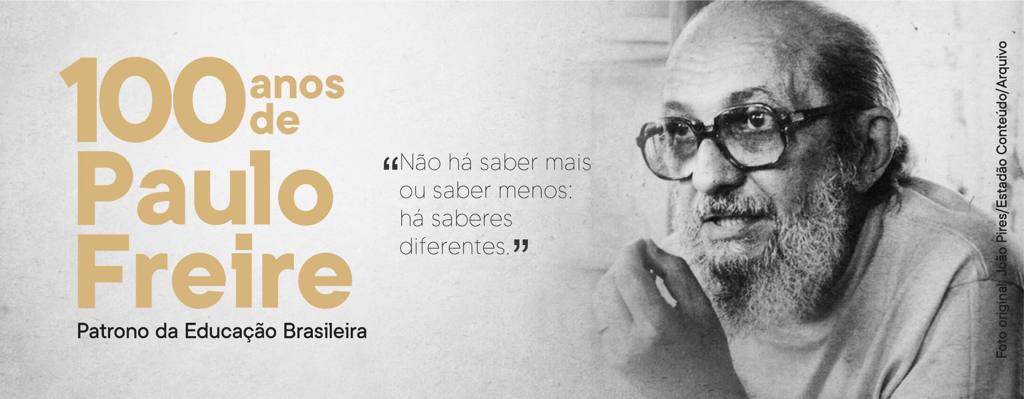 Homenagem ao Centenário de Paulo Freire