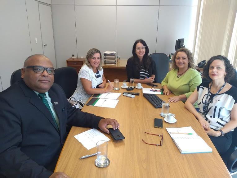 Reunião com a Coordenadoria de Planejamento e Orçamento das Instituições Federais de Ensino