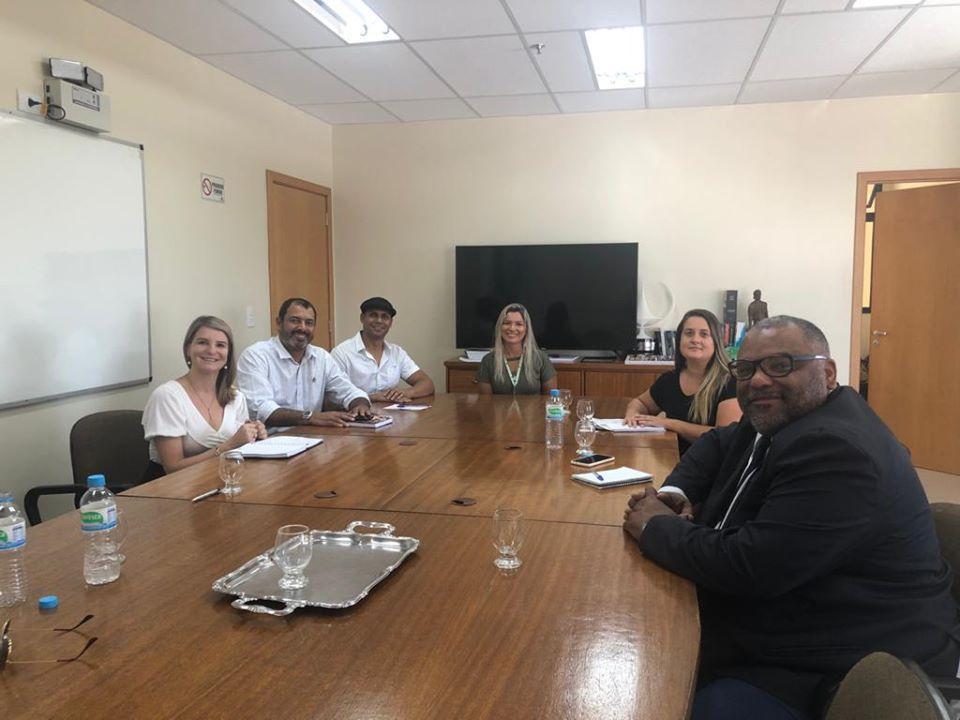 Gestão da Unipampa realiza visita ao IFSul Pelotas