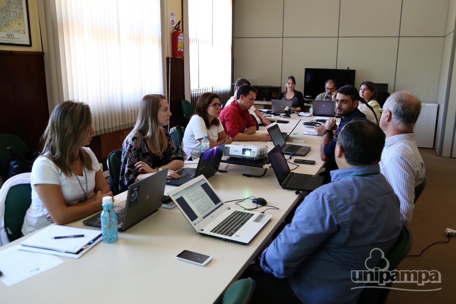 Primeira reunião do CGD debateu diversas pautas. Foto: Ronaldo Estevam