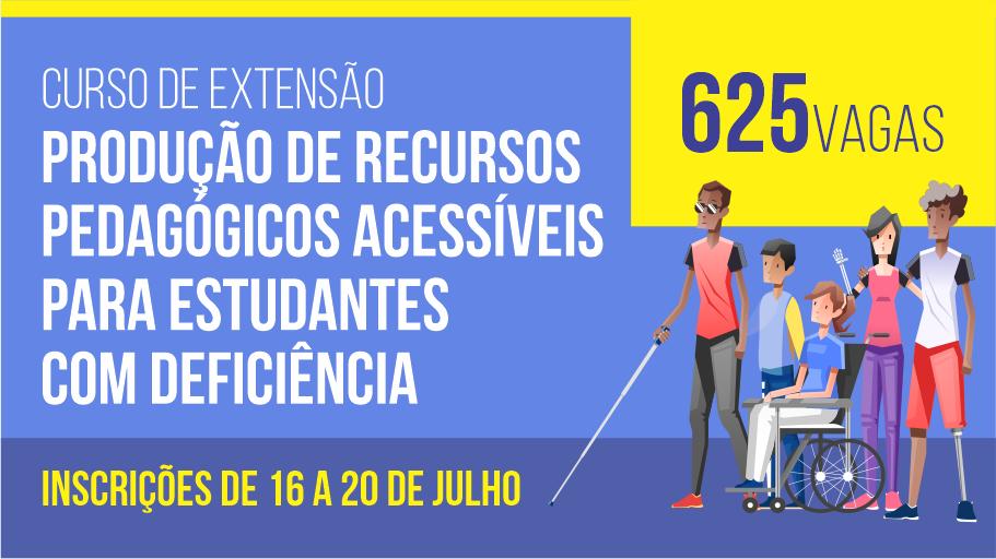 Unipampa lança curso online e gratuito sobre produção de recursos pedagógicos acessíveis