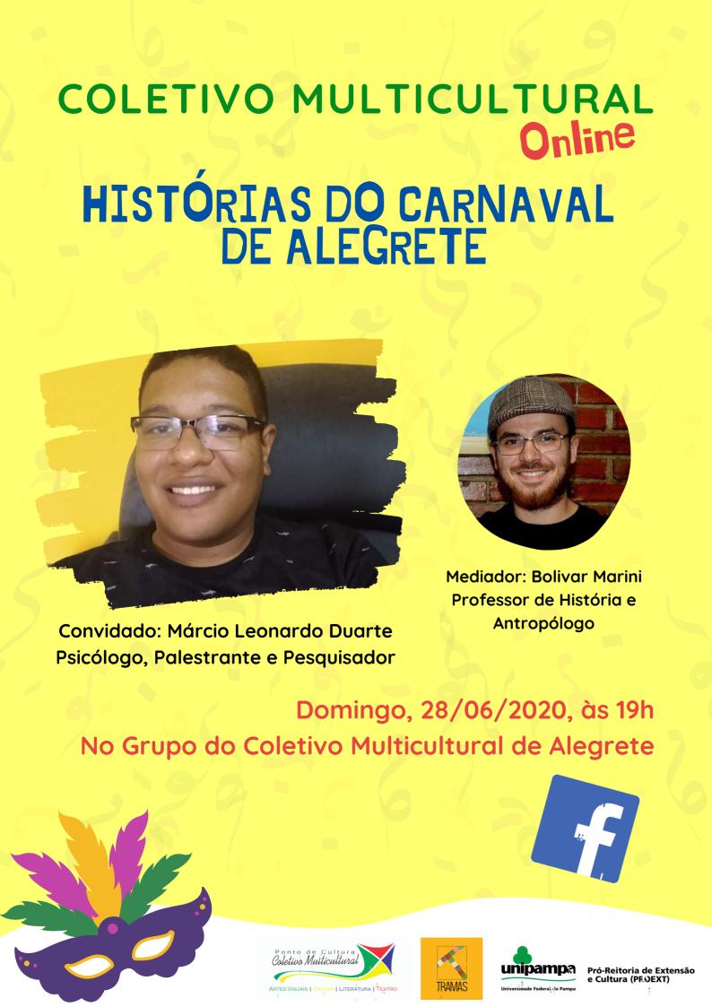 Histórias do Carnaval de Alegrete - Divulgação