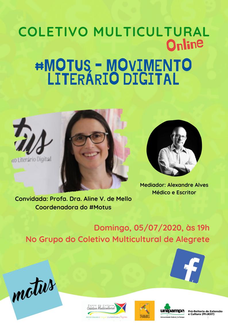 Motus – Movimento Literário Digital - Divulgação