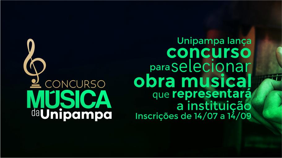 Unipampa lança concurso para selecionar obra musical que representará a instituição