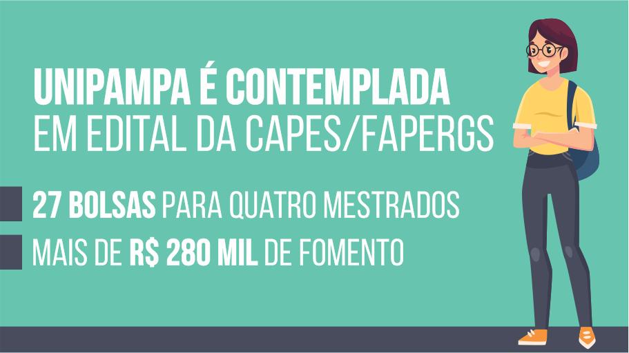 Programas de Pós-Graduação da Unipampa recebem mais de R$ 280 mil de fomento em edital da Capes/Fapergs