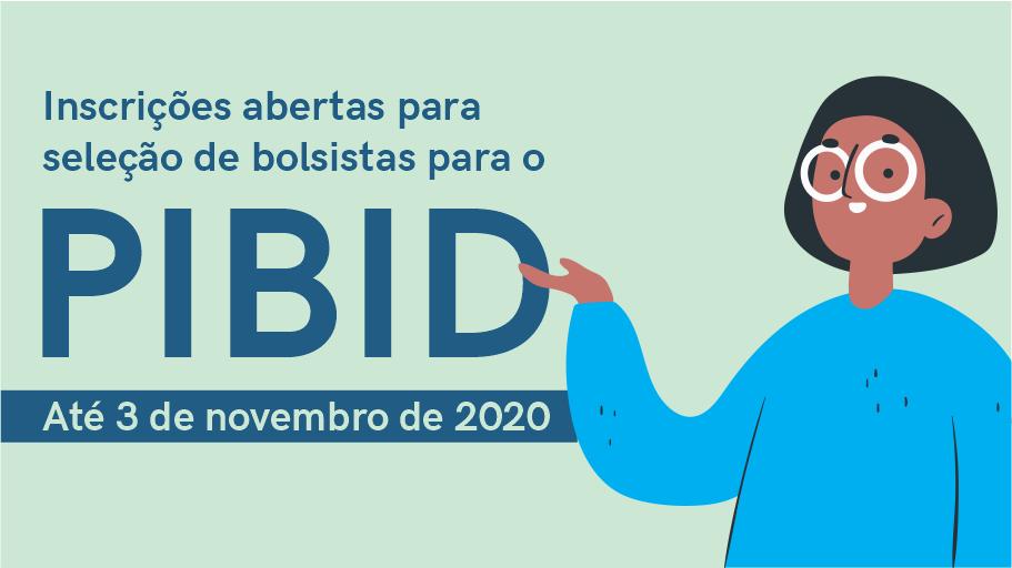 Inscrições abertas para seleção de licenciandos para o Programa Institucional de Bolsa de Iniciação à Docência 2020-2022