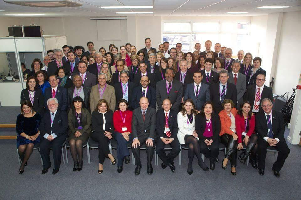 Brazilian rectors and international relations representatives in Manchester