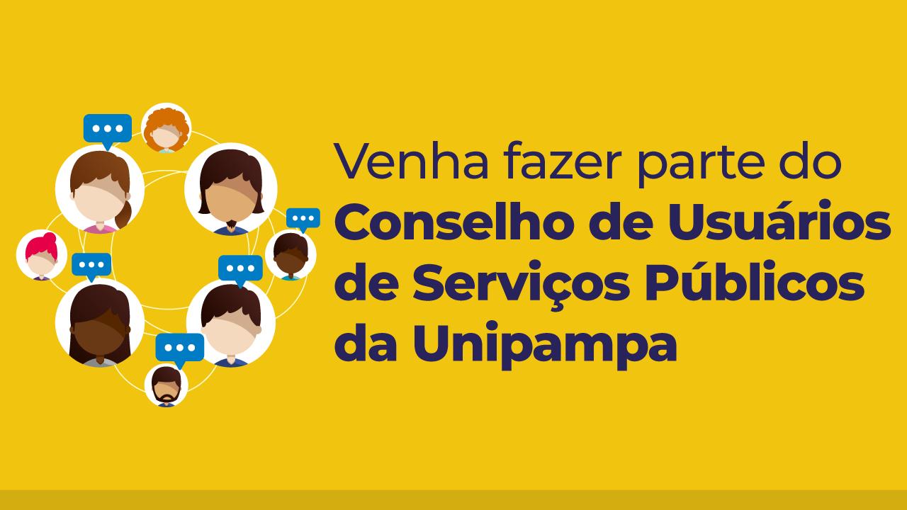 Unipampa realiza chamamento para formação do Conselho de Usuários
