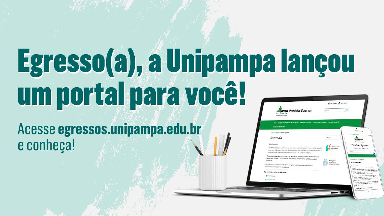 Unipampa lança Portal dos Egressos