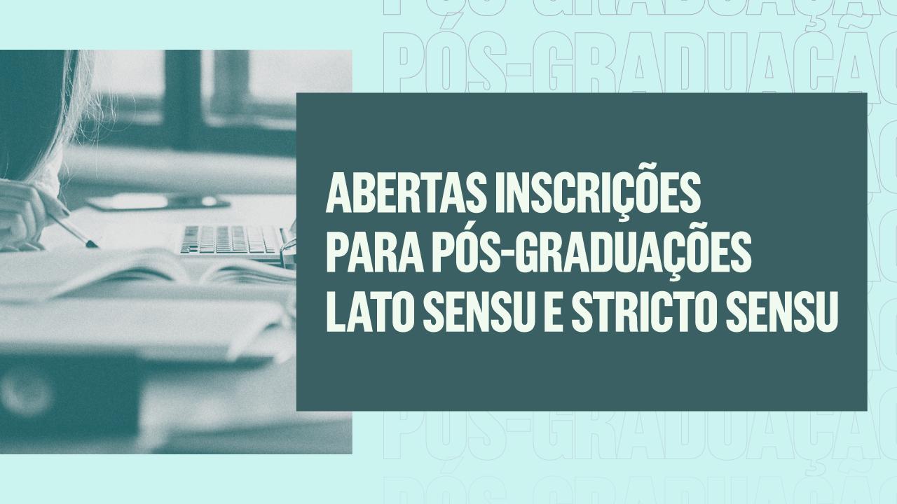 Cursos de pós-graduação da Unipampa com inscrições abertas