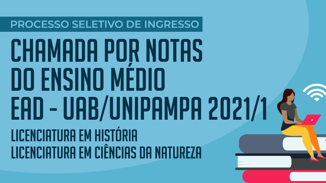 Unipampa abre inscrições para graduação em História e em Ciências da Natureza a distância