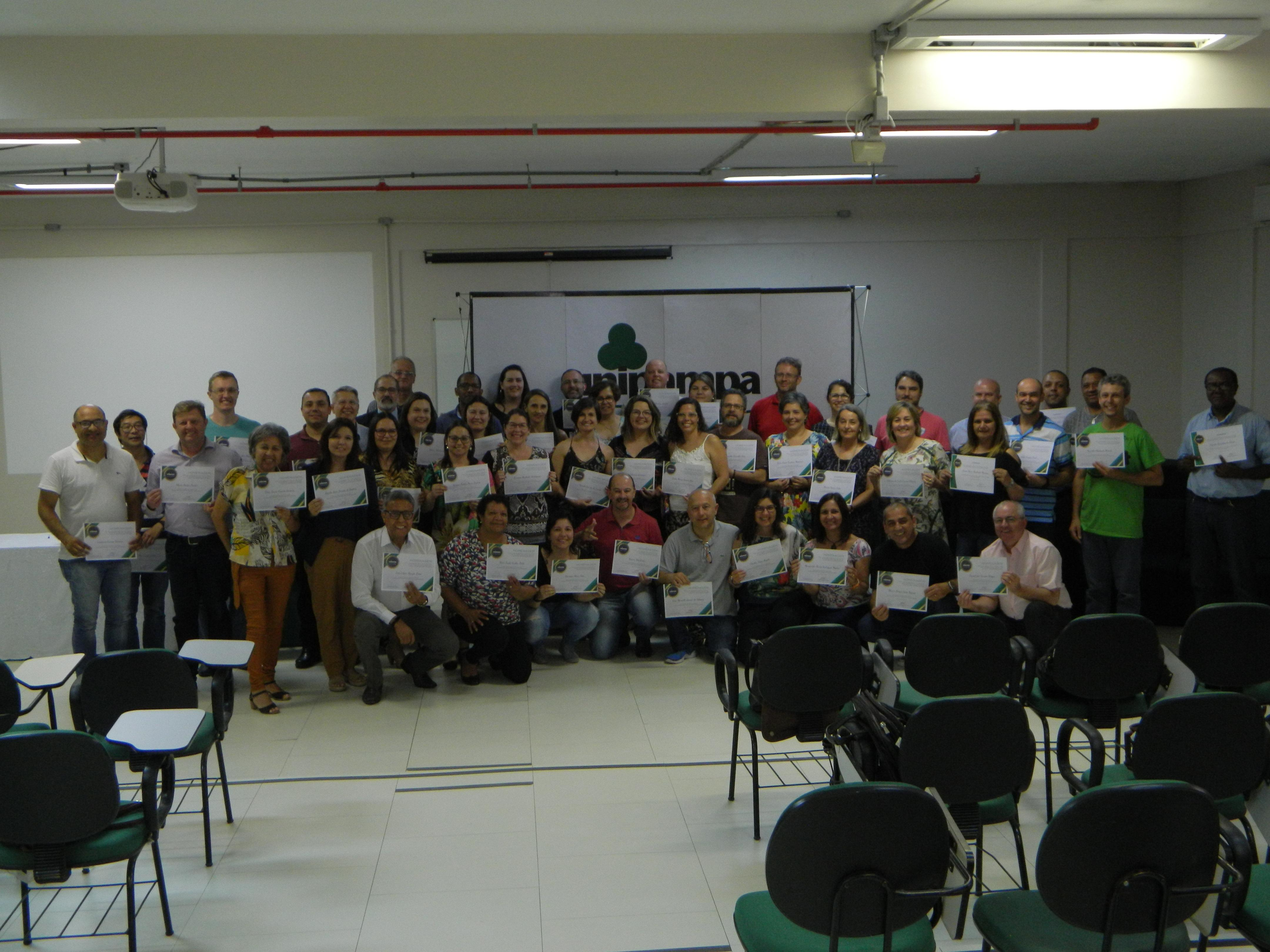 Homenageados do Campus Bagé e Reitoria