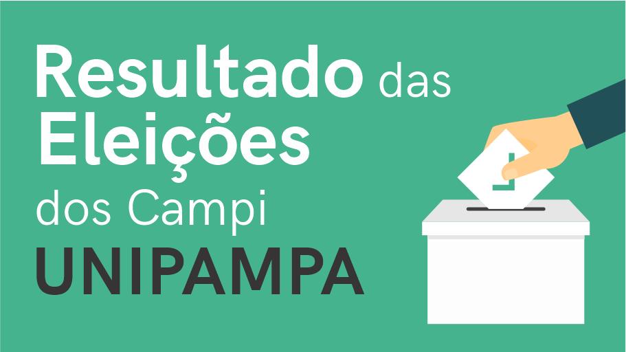 Resultado das Eleições dos Campi Unipampa